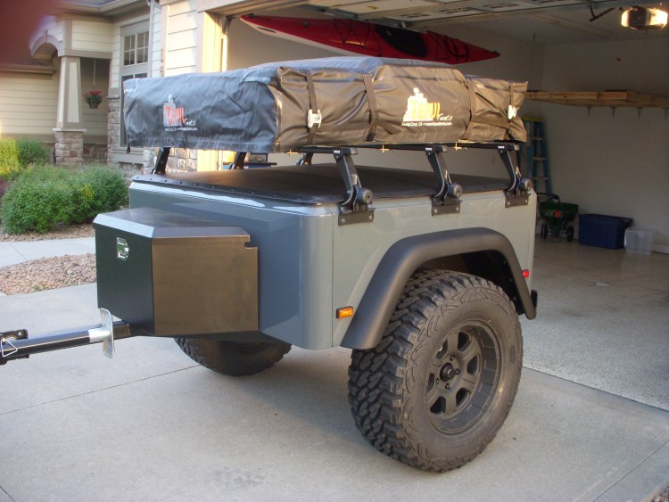 Jeep Trailer Customer Build by Bill going to CanyonLands