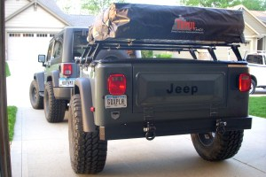 Jeep Trailer J-Series Dinoot Customer Build by Bill