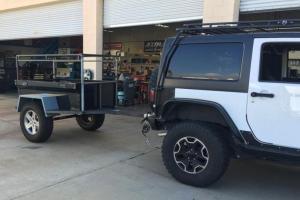 M416 Trailer Tub Kit by Dinoot Trailers Customer Build
