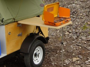 Compact Camping Side Table Kit for off road camping