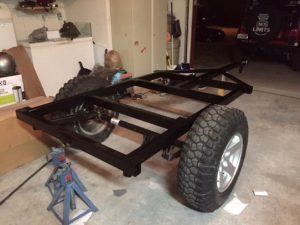 Dinoot Jeep Trailers Got Welded Frames?