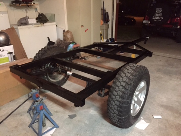 Got Welded Frames? | Dinoot Jeep Trailers