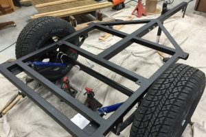 Jeep trailer frame shocks