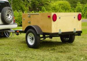 DIY Camping Trailer Build at Home Camping Trailer by Compact Camping Trailer