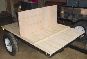 compact camping trailer DIY home built camping trailer lightweight off road trailer