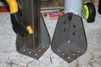 DIY No weld camping trailer rack