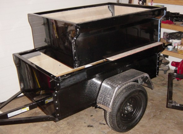 M416 Camping Trailer 4 and 5 Foot Version Tub Kits by Dinoot Trailers