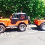Jeep Trailer Customer Build J-Series by Dinoot Trailers
