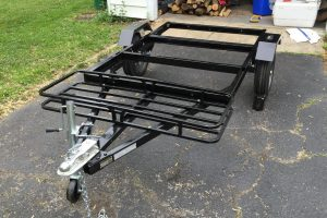 Trailer Frame Compact Camping Trailer