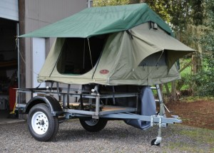Utility Trailer Multi Purpose Trailer with roof top tent