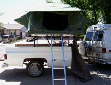 Doug's Pickup bed Camper