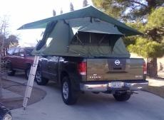 Ray's Pickup Tent Topped Camper
