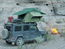 Roof Top Tent in Baja
