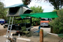 Compact Camping Trailer Rack 2