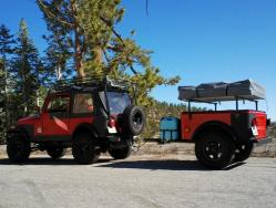 Jeep Trailer Dinoot Tub Kits Build at home on the road 4