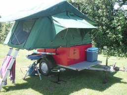 Compact Trailer Built at Home-4