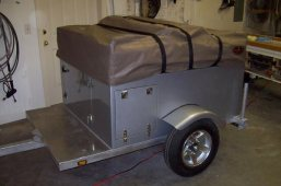 build a camping trailer at home with Compact Camping Trailers!
