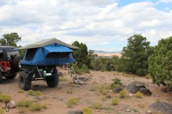 Roof Top Tent customer camping by Top-Tent.com