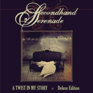 Secondhand Serenade – A Twist in my Story (Deluxe Edition (CD+DVD) Autographed on cover