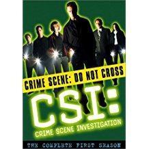 CSI – Crime Scene Investigation Season 1 (DVD) (SS)