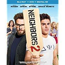 Neighbors 2 – Sorority Rising – Seth Rogen, Zac Efron (Blu-Ray, DVD, Digital) R (OMC)