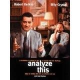Analyze This – Robert DeNiro, Billy Crystal R