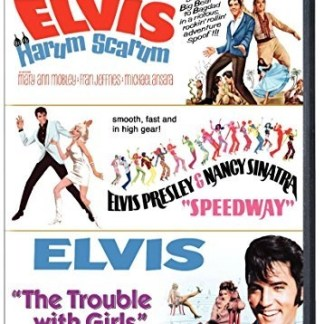 Elvis Presley Triple Feature – Harum Scarum; Speedway; The Trouble With Girls (2 DVDs) (OM)