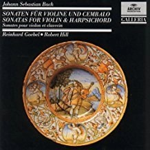 J.S. Bach – Sonatas For Violin and Harpsichord – Reinrad Goebel, Robert Hill (2 CDs)