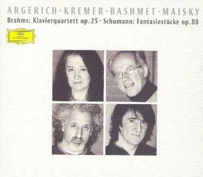 Argerich, Kremer, Bashmet, Maisky – Brahms Piano Quartet Op. 25 Schumann Fantasiestücke Op. 88 …