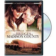 The Bridges of Madison County – Meryl Streep, Clint Eastwood (DVD) (LS)