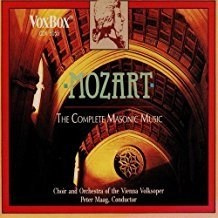 Mozart – The Complete Masonic Music (2 CDs)