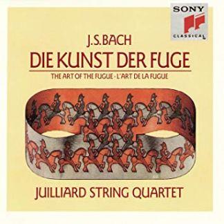Bach – The Art Of The Fugue – Julliard String Quartet (2 CDs)