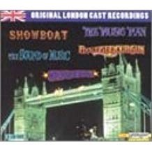 Original London Cast Recordings – Show Boat; The Music Man; Oklahoma!; Sound of Music; Annie Get Your Gun (5 CDs)