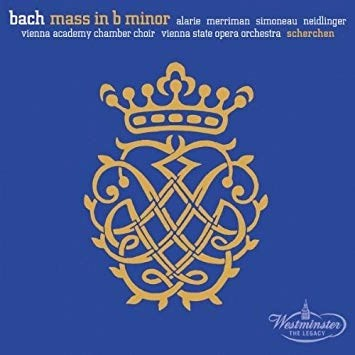 Bach – Mass in B Minor – Herman Scherchen 2 CDs