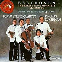Beethoven – The Early String Quartets – Tokyo String Quartet (3 CDs)