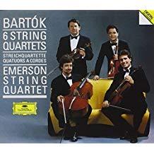 Bela Bartok – The 6 String Quartets – Emerson String Quartet (2 CDs)