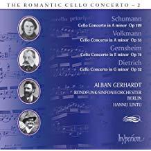 Schumann – Volkmann; Gernsheim; Dietrich – Cello Concertos – Alban Gerhardt
