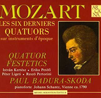Mozart – Les Six Derniers Quators – Paul Badura-Skoda (3 CDs)