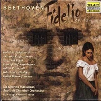 Beethoven – Fidelio · Sir Charles Mackerras (2 CDs) (Cut in artwork)