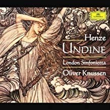Henze – Undine, ballet in three acts (complete) – Oliver Knussen (2 CDs)
