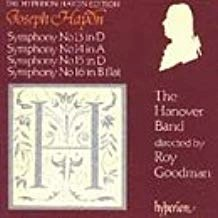 Haydn – Symphonies 13-16