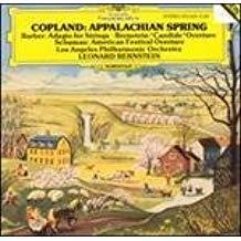 Copland – Appalachian Spring; Barber – Adagio – Leonard Bernstein