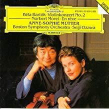 Bartok – Moret – Violinkonzerte – Anne Sophie Mutter