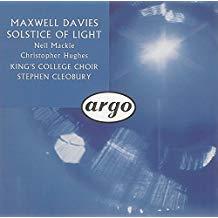 Maxwell Davies – Solstice of Light