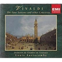 Vivaldi – The Four Seasons and Other Concertos – Louis Auriacombe (2 CDs)