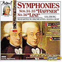 Mozart Symphonies – Hans Graf