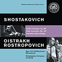 Oistrakh Rostropovich – Shostakovich – Violin and Cello Concertos