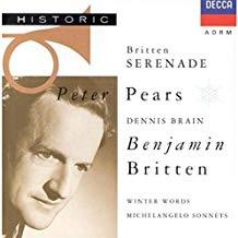 Britten – Serenade for Tenor, Horn & Strings – Dennis Brain