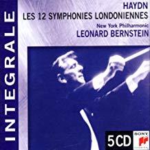 Haydn – London Symphonies Nos. 93 – 103 – Leonard Bernstein (5 CDs)