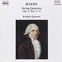 Haydn – String Quartets: Op.1 #S 1-4 – Kodaly Quartet
